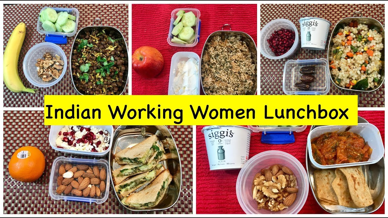 Monday To Friday Indian Lunch Box Ideas For Women Office Quick Vegetarian Lunchbox Ideas Youtube