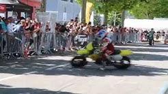 Boris et Stéphane CHAMBON en course Supermotard privée chez BEST4MOTO