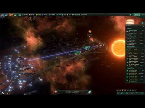 Stellaris: Rogue Servitors and Awakened Machine Empire vs. The Contingency