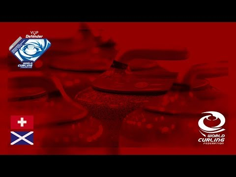 Switzerland v Scotland - Men round-robin - World Junior Curling Championships 2018