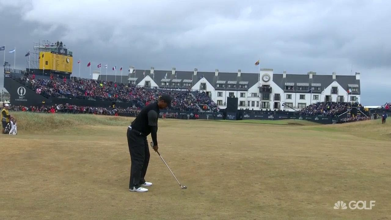 Tiger Woods: 'I'm certainly right there in it' I The Open  Championship