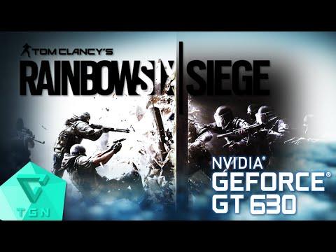 Tom Clancy's Rainbow Six Siege | Gameplay ON GT630 2GB DDR3 [HD 60FPS] |