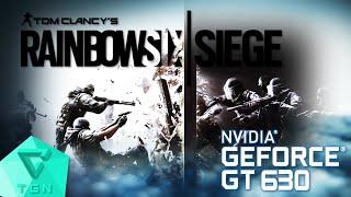 tom clancy s rainbow six siege   gameplay on gt630 2gb ddr3 hd 60fps