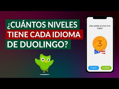 ¿Cuántos Niveles Tiene cada Idioma y Unidad de Duolingo? Aprende Idiomas por Niveles