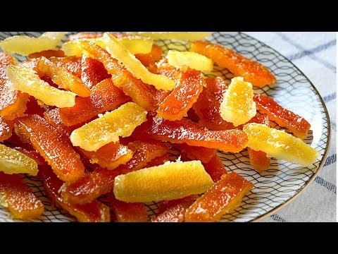 Fruta escarchada para panes dulces navideños ¡en 1 solo día! Receta fácil