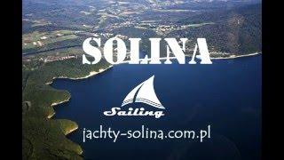 Solina jest piękna. Zalew Soliński w Bieszczadach.