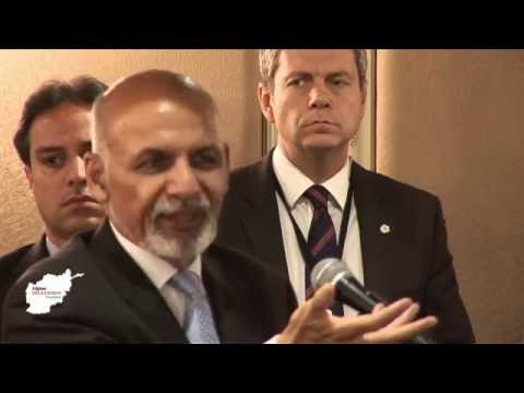 The Afghan President H. E Dr. M. A. Ghani Meeting Afghans in London