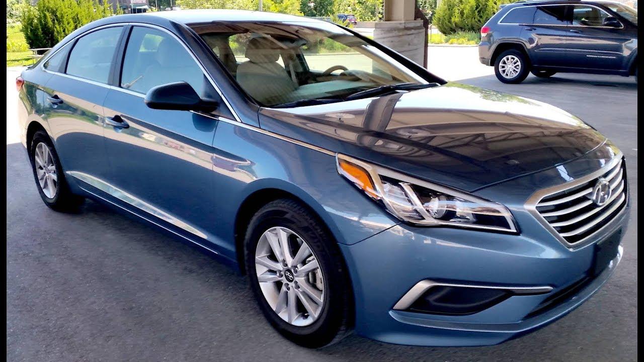 2016 Hyundai Sonata Se 30k Lakeside Blue