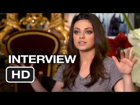 Oz Interview - Mila Kunis (2013) - Fantasy Movie HD