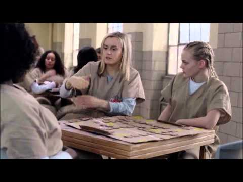 Orange is the New Black S01E07 Piper Tricia and Taystee Road Less Traveled