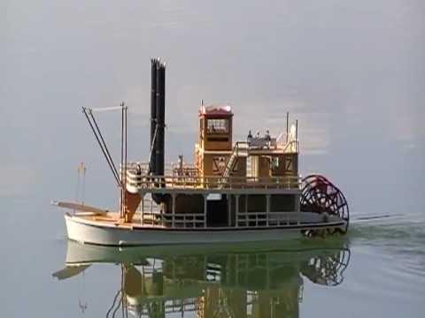 Maquette bateau roue a aube - Bateau sur roues ...