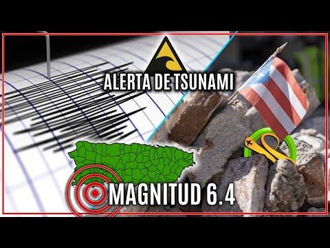 TERREMOTO MAGNITUD 6.4 - PUERTO RICO