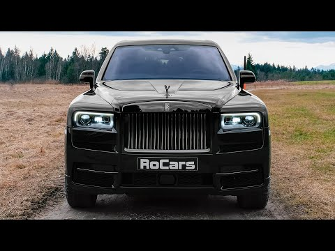 Rolls-Royce Cullinan Black Badge (2020) - V12 Luxury SUV In Details