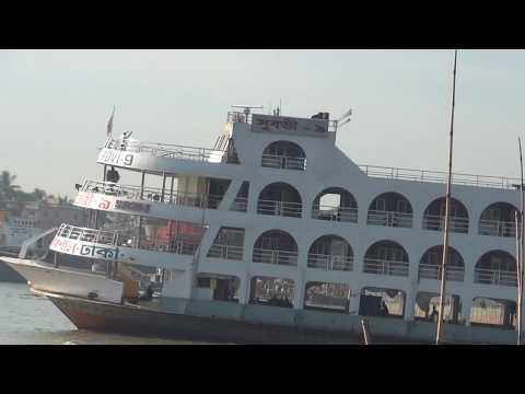দক্ষিন বাংলার পিরামিড  দুর্দান্ত গতিতে ঢাকা মাতাল।।Big Ship Dhaka To Barishal 657