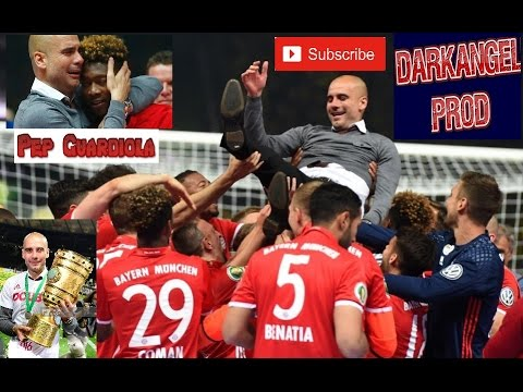 Pep Guardiola - FC Bayern Munich | Last Game - Farewell | DFB Pokal Final | Emotion |2016|