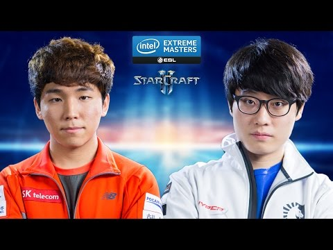 StarCraft 2 - Dark vs. Taeja (ZvT) - IEM Katowice 2015 - Ro16