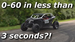 QUEST FOR 2s! Beast Mode X3 RIPS to 60mph under 3 seconds!?