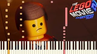 Everything's Not Awesome - The LEGO Movie 2: The Second Part | Piano Tutorial (Synthesia)