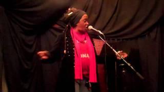 "Theresa Davis performs ""Spit and Polish"" @ Java Monkey Speaks"