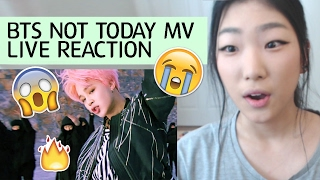 BTS Not Today FULL MV Live Reaction - BANGTAN COMEBACK