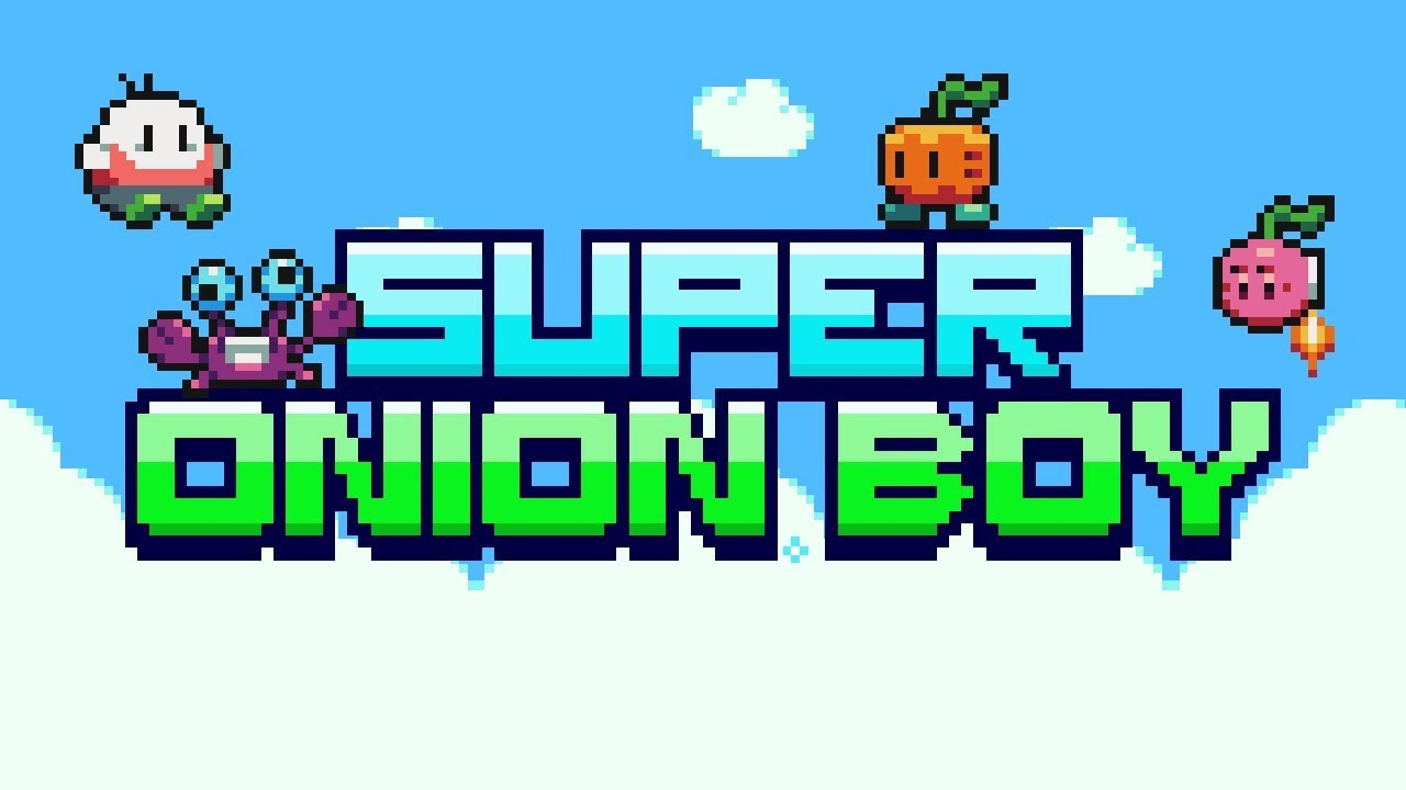 Super Onion Boy playthrough
