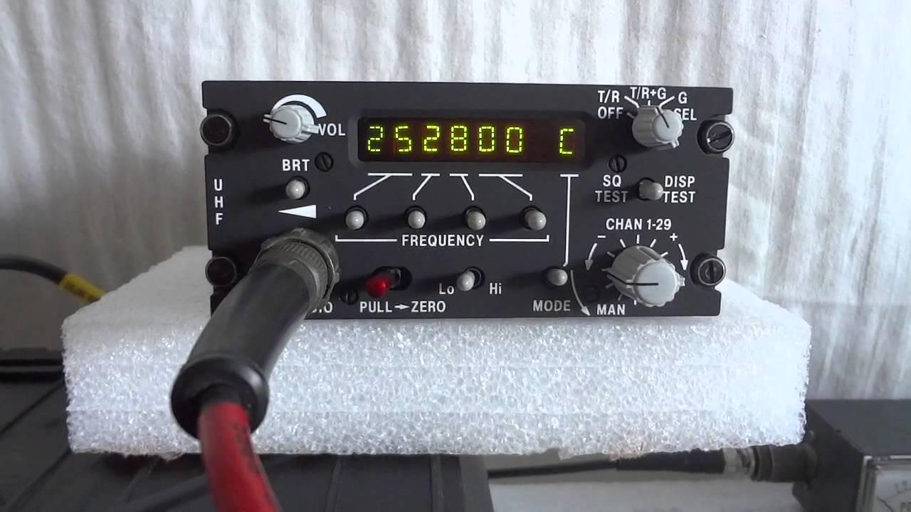 Racal Jaguar-U (BCC72) military aircraft transceiver by LifeIsTooShortForQRP