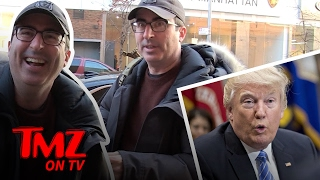 John Oliver Makes It Very Clear He Doesn't Care About The Correspondents Dinner | TMZ TV