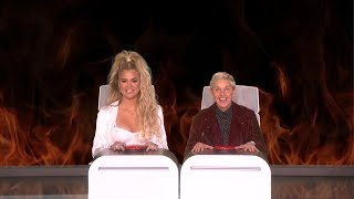 Khloe Kardashian Answers Ellen's Burning Questions thumbnail