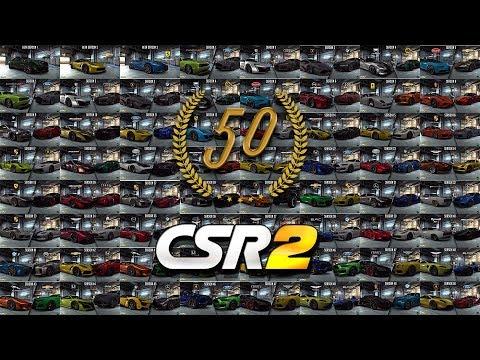 CSR Racing 2 | All First 50 Season Cars + Prestige Cars!