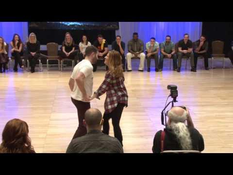 Ben Morris & Melissa Rutz  Monterey Swingfest 2017 Champions Jack & Jill 1st Place
