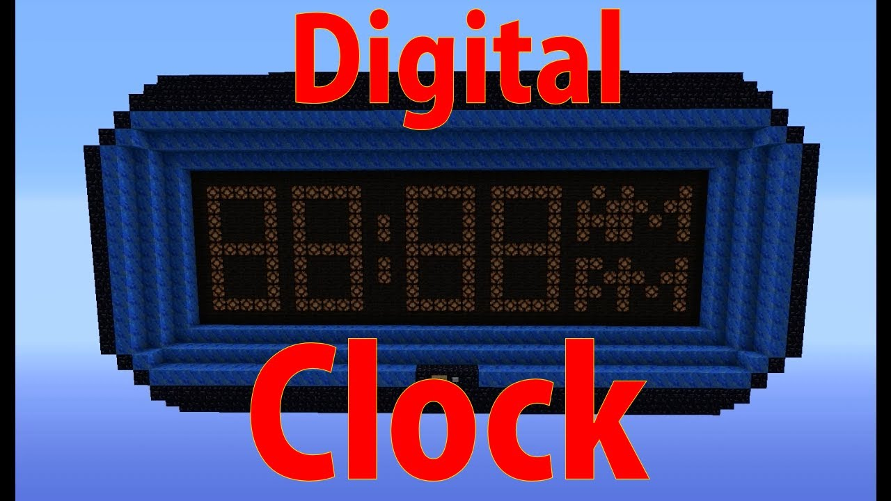 State Clock Download Schematic And Vid Minecraft Project Wiring Redstone Digital Perfect Timing Youtube