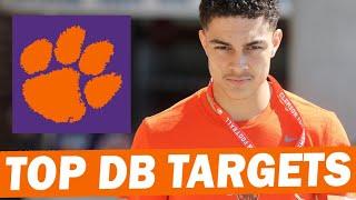 Clemson's Top 2022 Defensive Back Targets