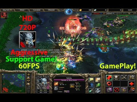 ★DoTa Witch Doctor - 6.83★GamePlay!★ 5000-6000 Points! Aggressive Support!★