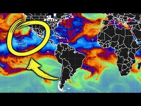 Estan Modificando El Clima??? - Extraña Señal Captada Por Satelite!!