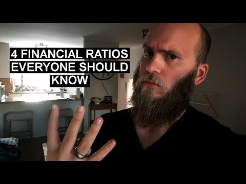 4 Financial Ratio's Everyone Should Know