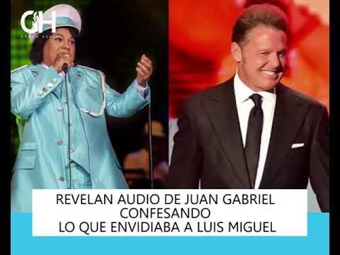 Lo que Juan Gabriel le envidiaba a Luis Miguel