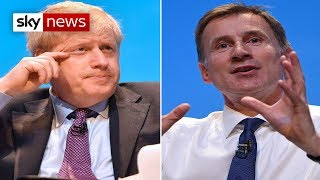 Tory Hustings: Johnson v Hunt