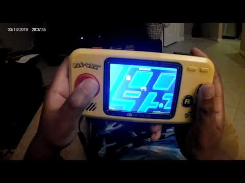 Pac-Man Pocket Player Arcade & Ghost Review