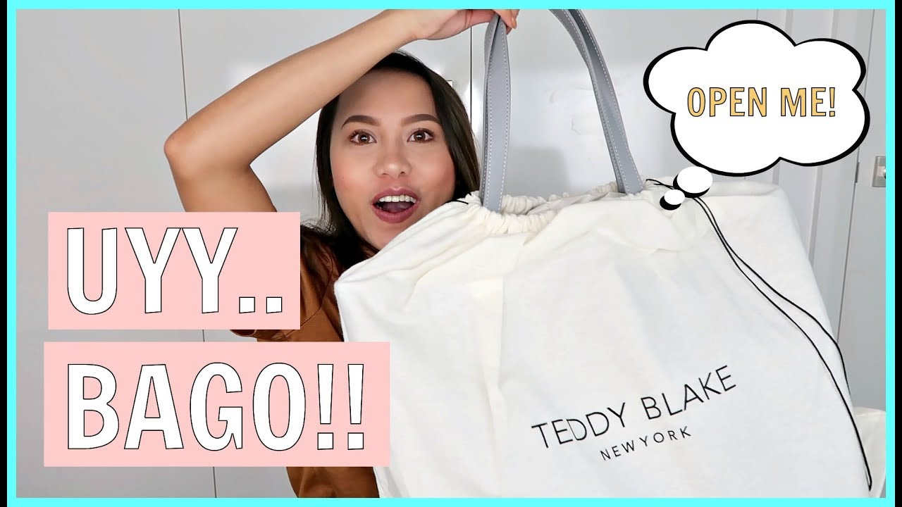 598c49a6d9 08 01 BAGONG BAG UNBOXING! BAGONG STYLES FROM TEDDY BLAKE! ❤