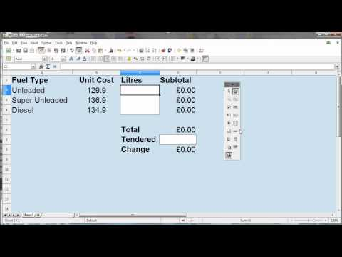 Recording a Macro and Adding a Button in LibreOffice 4 - YouTube