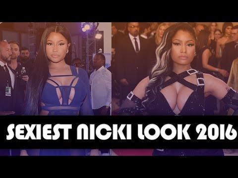 HOTTEST Nicki Minaj Red Carpet Look of 2016: MTV VMAs vs. Met Gala