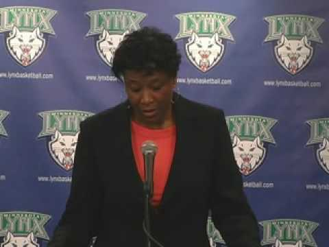 Post Game Audio with Coach Gillom: Minnesota Lynx vs. Sacramento Monarchs 7-2-09
