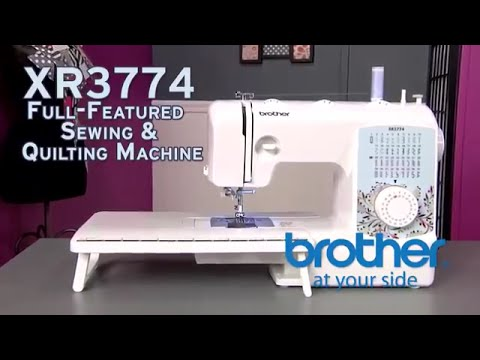 Brother XR3774 Sewing & Quilting Machine Overview