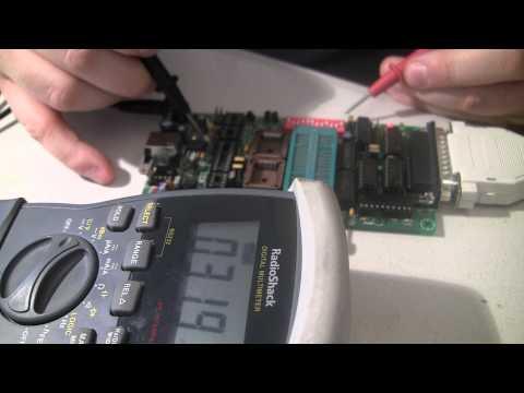 Willem eprom programmer 5 0b problems Pt 1 - YouTube
