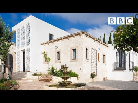 Exploring three incredible gardens in this extraordinary Israeli mansion - BBC