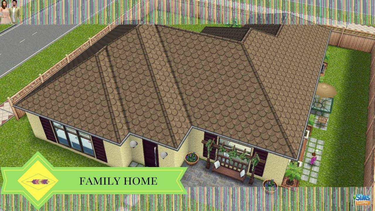 The Sims Freeplay - Modern Family Home (Original Design)