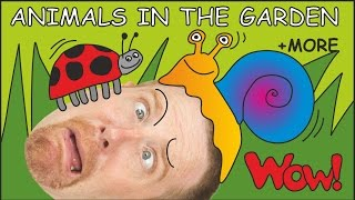 Animals in the Garden for Kids from Steve and Maggie   Learn English Speaking with Wow English TV