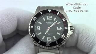 Мужские японские наручные часы Casio MTD-1053D-1A(Подробное описание: http://www.alltime.ru/catalog/watch/374/casio/Man/9181/detail.php?ID=59447&back=list., 2013-04-17T10:07:51.000Z)