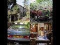 Derelict Mental Health House With Abandoned Volvo 340 GL & Peugeot 504 Pickup (Full Inside)