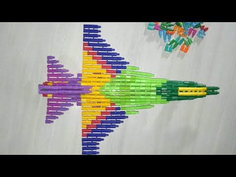 Membuat Pesawat F-16 Dengan LEGO MINISET